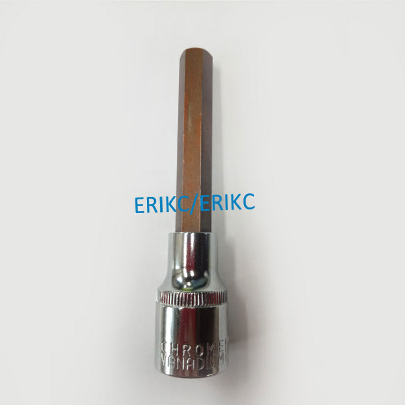 ERIKC Common Rail Tool Diesel Fuel Injector Valve Assy Parts Inner Hexagon Spanner Disassembly Dismounting Repair Kits Free Ship