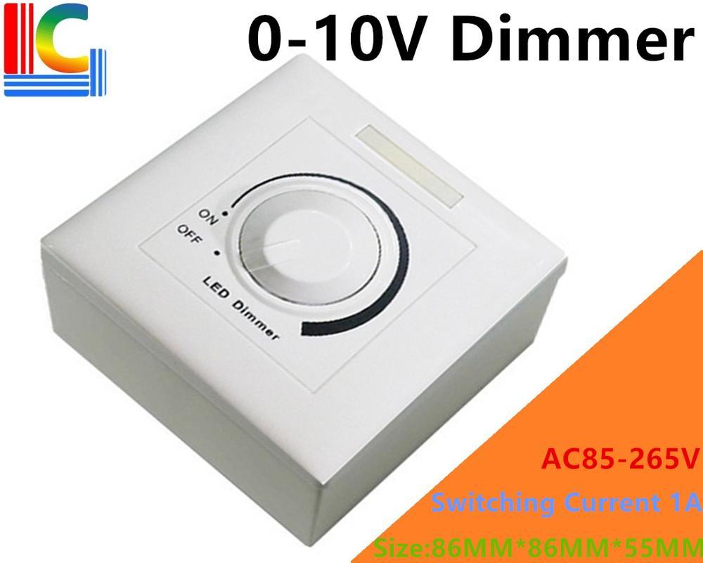 0-10V LED Dimmer PWM Dimmable AC85-265V for 0-10V Dimmable Driver
