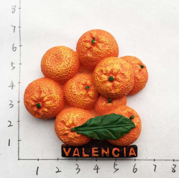 Valencia Spain magnet travel souvenir Fridge Magnet