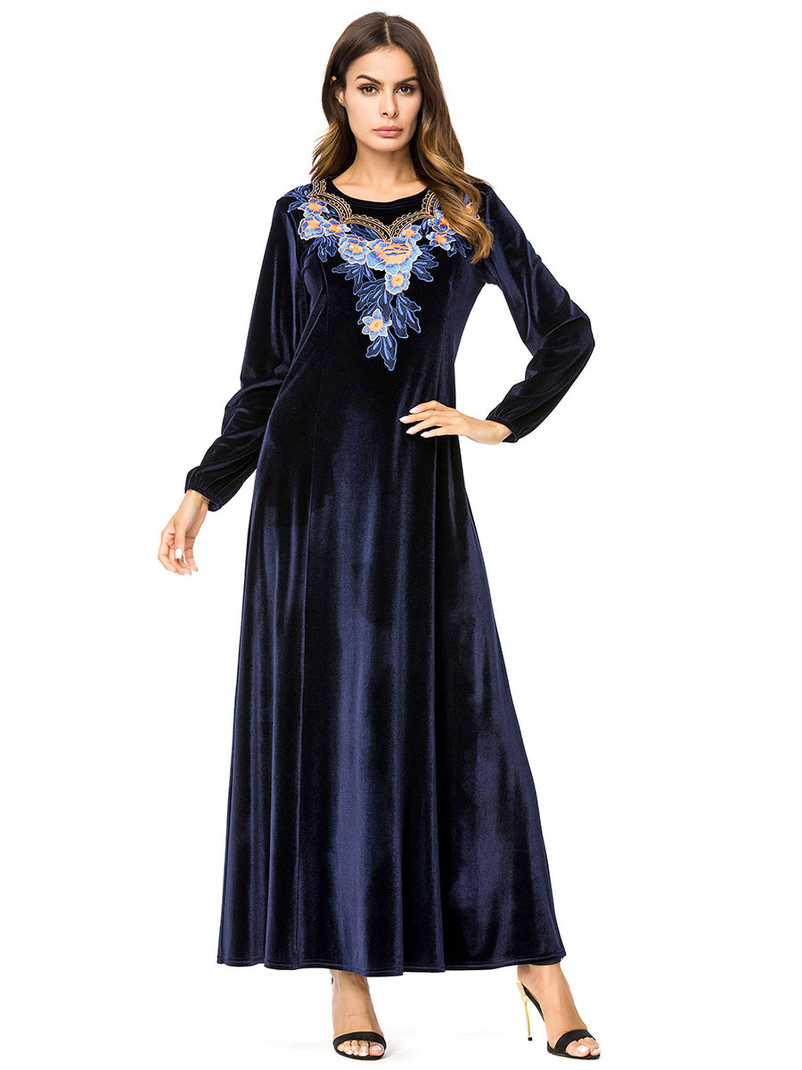 0a971f1dc5d4 ... Fashion Mother Of The Bride Evening Dress Long Sleeve Lace Appliques  Stain Ruffles Arabic Party Gowns. US $105.41. View Offer