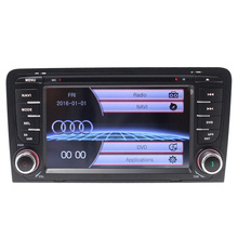 free map with cheapest 2 din 7 inch touch screen car GPS Navigation for Audi A3 2003-2010 with RDS/DVD/GPS/FM/AM/Bluetooth/C