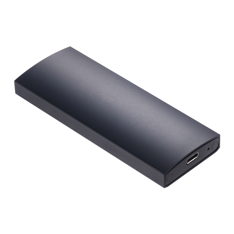 аксессуар корпус для hdd satechi aluminum st tcdem hdd 2 5 usb type c external space gray Uneatop UT63101U3C M.2 NGFF USB3.1 Type-C SSD Aluminum  B+M key  hdd USB C external  Enclosure for 10Gbps