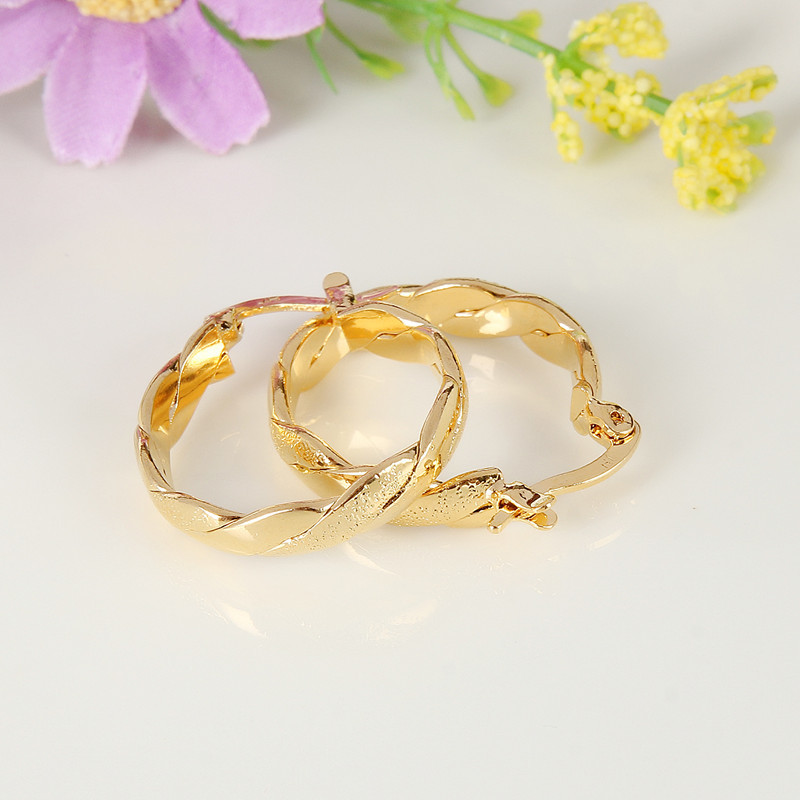 Bangrui Νυφικά Ανδρικά Κοσμήματα Κίτρινο - Κοσμήματα μόδας - Φωτογραφία 4