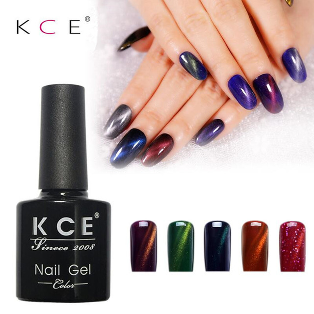 36 Colors Nail Gel Polish Varnish 3D Magnetic Cat Eyes Gel Nail ...