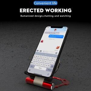 Image 4 - Cargador inalámbrico Qi de 10W para coche, cargador rápido inalámbrico, soporte plegable de Iron Man para iPhone XS, X, Samsung S9, S8