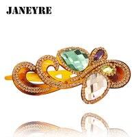 1 Piece Free Shipping Hot Sale Women Hair Jewelry Rhinestone Pearl Bow Barrette Hair Clip FR011