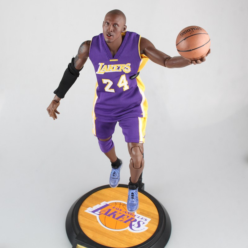 [Limited] Basketball star Kobe Bryant NBA Lakers No.24 MVP ALL Star Game Action Figure Toys 1/6 34cm PVC Collection Model gift nba basketball characters kobe james curry kyrie john damian 10cm action figure toys