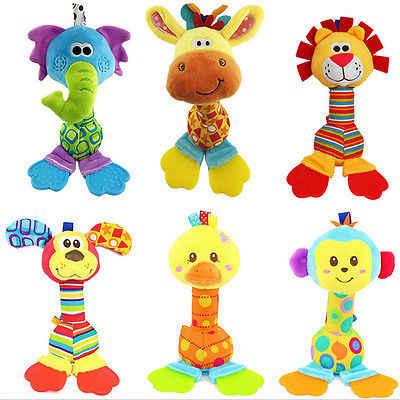 Звон детские подвесные Игрушечные лошадки погремушки животных колокольчики маленьких автомобиль коляска Игрушечные лошадки