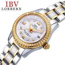 2017 Top Fashion Rushed Ibv Genuine Female Fashion Ladies Watch Automatic Mechanical Luminous Waterproof Diamond Business Model