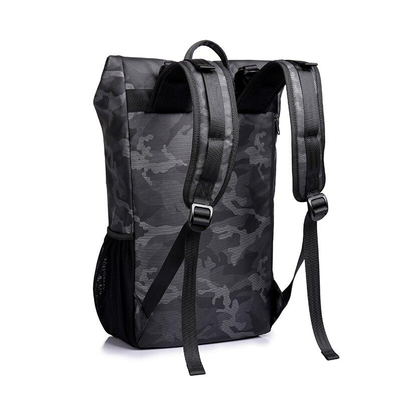 TANGCOOL hommes mode sac à dos 15.6 'sac à dos pour ordinateur portable sac à dos étanche quotidien école sac à dos pour collège étudiant - 6