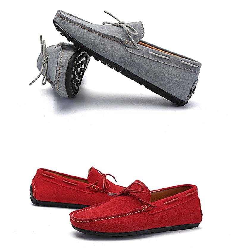Весенне-летняя мужская повседневная обувь замшевые Для мужчин мягкие удобные серый черный Мужская обувь Туфли без каблуков Летняя мужская ...