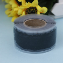 Black Multi-purpose Self Adhesive Strong Waterproof Performance Repair Tape Silicone Auto Fusion Bonding Wire Hose