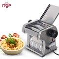 ITOP Коммерческая электрическая машина для приготовления лапши  машина для резки макарон  0 5-3 мм регулируемая толщина