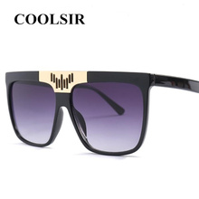 COOLSIR Oversized Sunglasses Women Retro Brand Designer Gradient Sun Glasses Men Vintage Shades Eyewear Big Frame