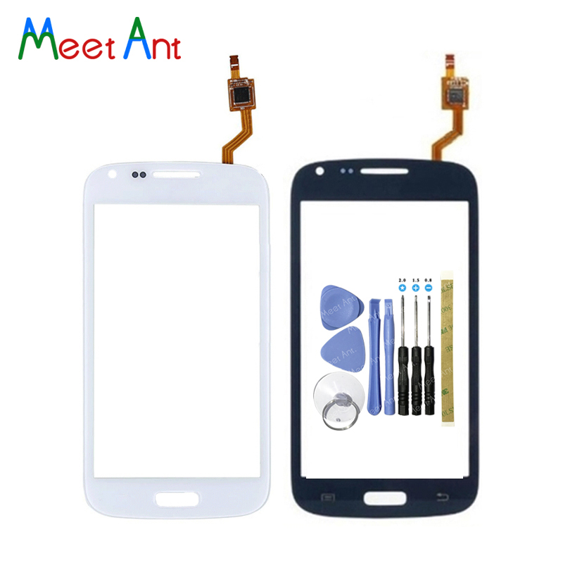 High Quality 4.3 For Samsung Galaxy Core Duos GT-i8260 I8260 I8262 Touch Screen Digitizer Sensor Front Glass Lens Panel