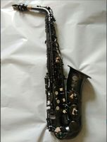 The EB Saxofone Alto Selmer 54 High Quality France Henri Cair E Preto Da Routine Saxofone
