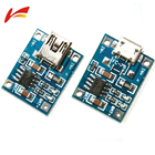 TP4056 5V 1A MINI Micro USB 18650 Lithium Battery Charging Board Charger Module+Protection Dual Functions