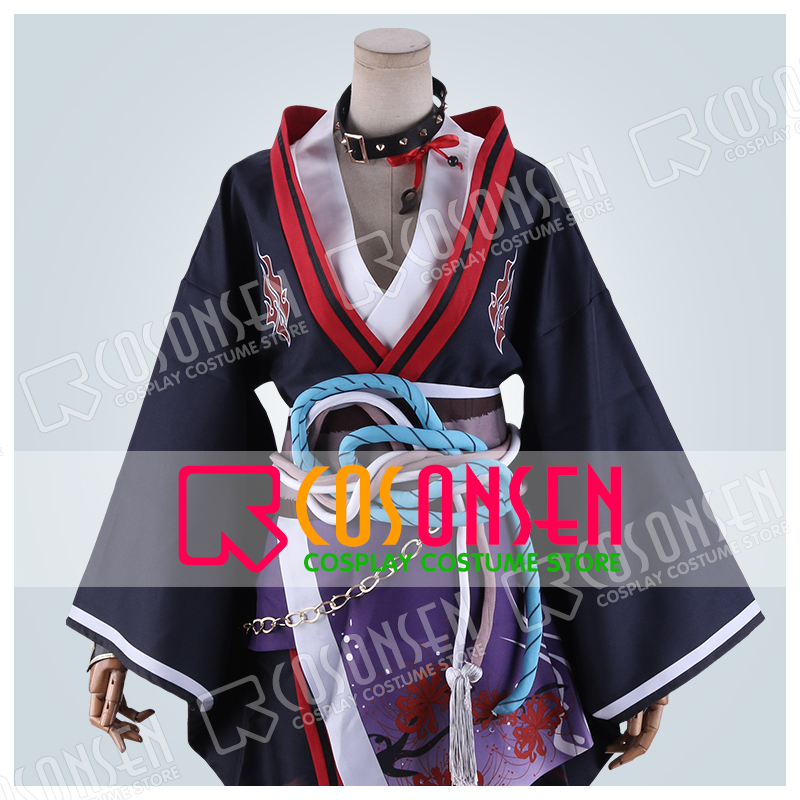 Ensemble Stars Ogami Koga Scout Onibi Silver Ash Blue Ogre Bloomed Cosplay Costume COSPLAYONSEN Full Set