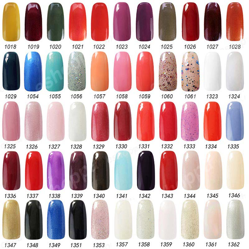 Gel Nail Polish Color Ideas - Absolute cycle