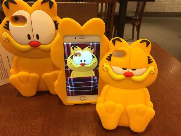 Online buy wholesale garfield iphone from china garfield for Case 3d online