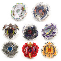 8pcs/lot Beyblade With Launcher Metal Fusion 4D Fighting Gyro 3053 Spinning Top Christmas Gift Puzzle Toys For Kids #E