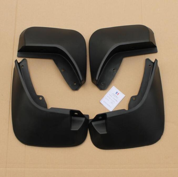 TTCR-II Car Accessories splasher Mudguard Mud Guards Flaps Splash Guards Fit For Land Range Rover DISCOVERY SPORT 2015-2016 leather car seat covers for land rover discovery sport freelander range sport evoque defender car accessories styling