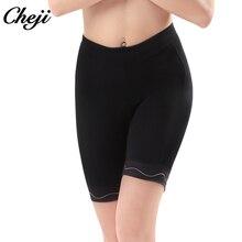 CHEJI Popular Women Cycling Shorts Black Pink Bicycle Tights Summer MTB Road Bike Wear Short Lycra With Reflective