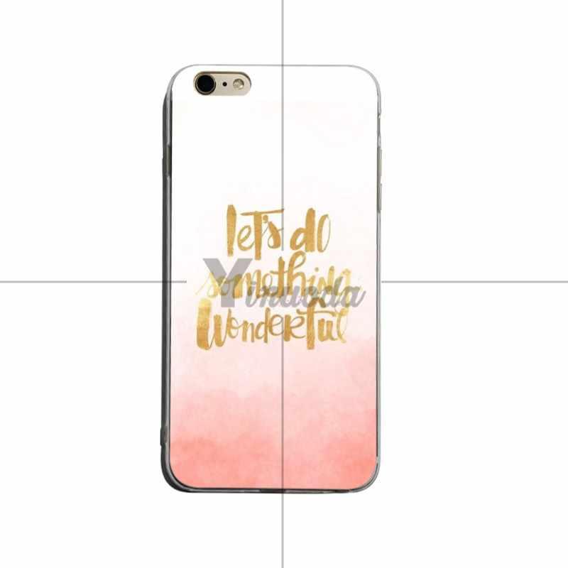 Yinuoda Niet Alle Dat Laat Ons Iets Soft Silicone Cover Case Voor Iphone X Xs Xr Xsmax 5 5S Se 8 8 Plus 7 7 Plus 6 S 6 Splus