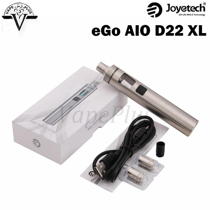 Original Joyetech eGo AIO D22 XL Kit 2300mah Built In Battery 3 5ml Capacity font b