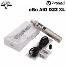 ต้นฉบับJoyetech eGo AIO D22 XLชุด2300มิลลิแอมป์ชั่วโมงในตัวแบตเตอรี่3.5มิลลิลิตรความจุบุหรี่อิเล็กทรอนิกส์อาตมาAIO D22 XLชุด