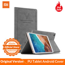 Para Xiaomi mi Pad 4 mi Pad 4 Flip Case Tablet PU Tablet Funda de cuero Android Tablet funda inteligente para fundas protectoras Tablet(China)