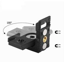 """1/"""" порт лазерный уровень кронштейн выравнивание супер сильный магнит для железа Адсорбция кронштейн для lazer уровней лазерный уровень штатив"""