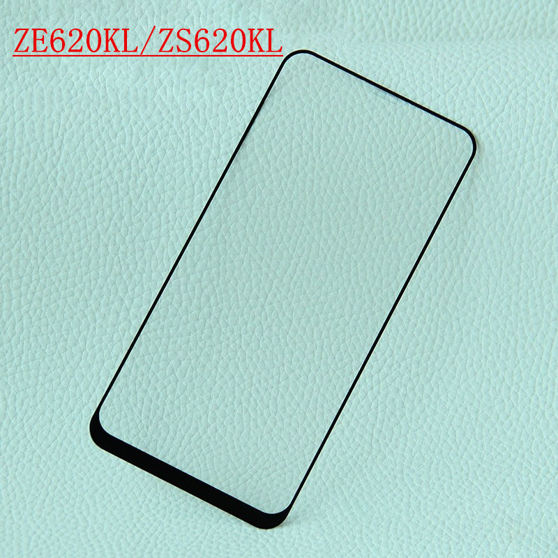 Asus zenfone 5 ZE620KL Glass Asus zenfone 5Z 5Q ZS620KL ZC600KL Tempered Glass Screen Protector QAZ Maggie G+ Full Glue Film