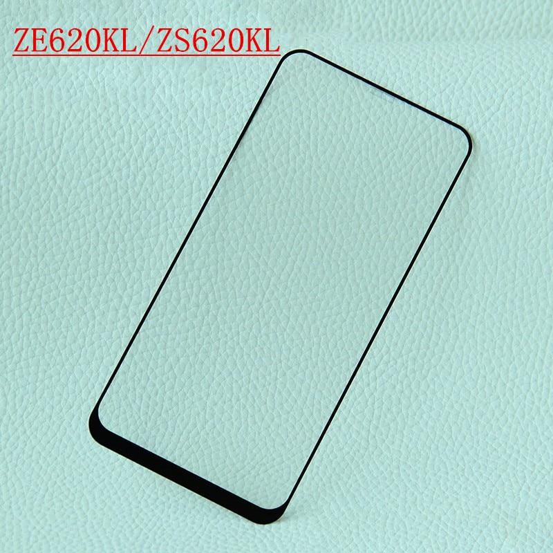 Asus zenfone 5 ZE620KL vidrio Asus zenfone 5 Z 5Q ZS620KL ZC600KL Protector de pantalla de vidrio templado QAZ Maggie G + completo pegamento película