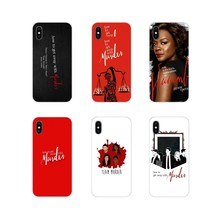 Di modo How to Get Away with Murder Del Telefono Mobile Coperture Per Huawei P8 9 Lite Nova 2i 3i GR3 Y6 pro Y7 Y8 Y9 Prime 2017 2018 2019(China)