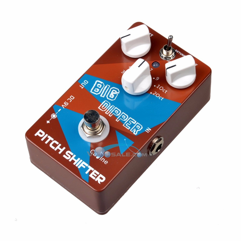 цена на Caline CP-36 Guitar Effects Pedals Pitch Shifter Big Dipper Guitar Effects Accessaries with Ture Bypass