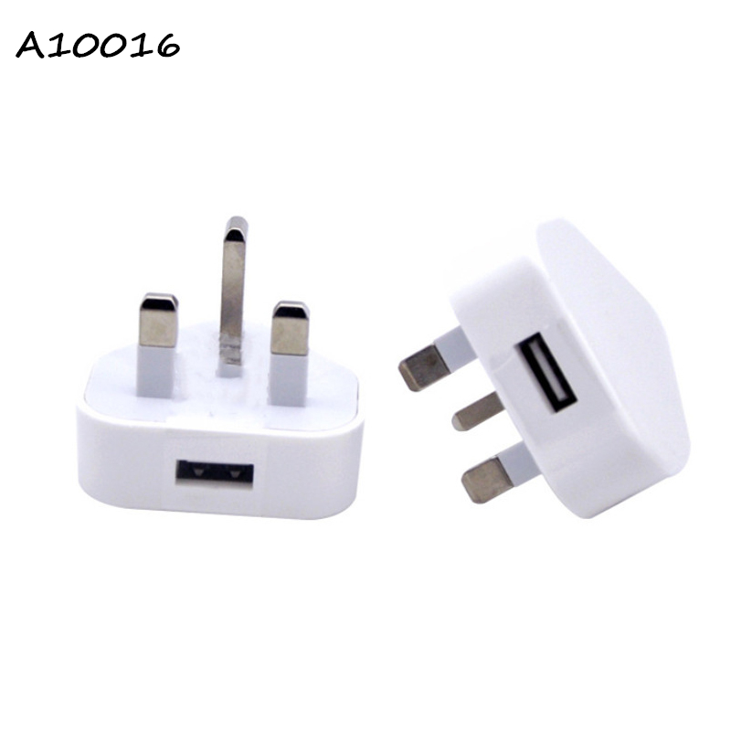 UK 5V 1A Wall USB Charger For Mobile Phone Universal Travel 1 Port Fast Adapter Samsung S10 MI 9 iPhoneX