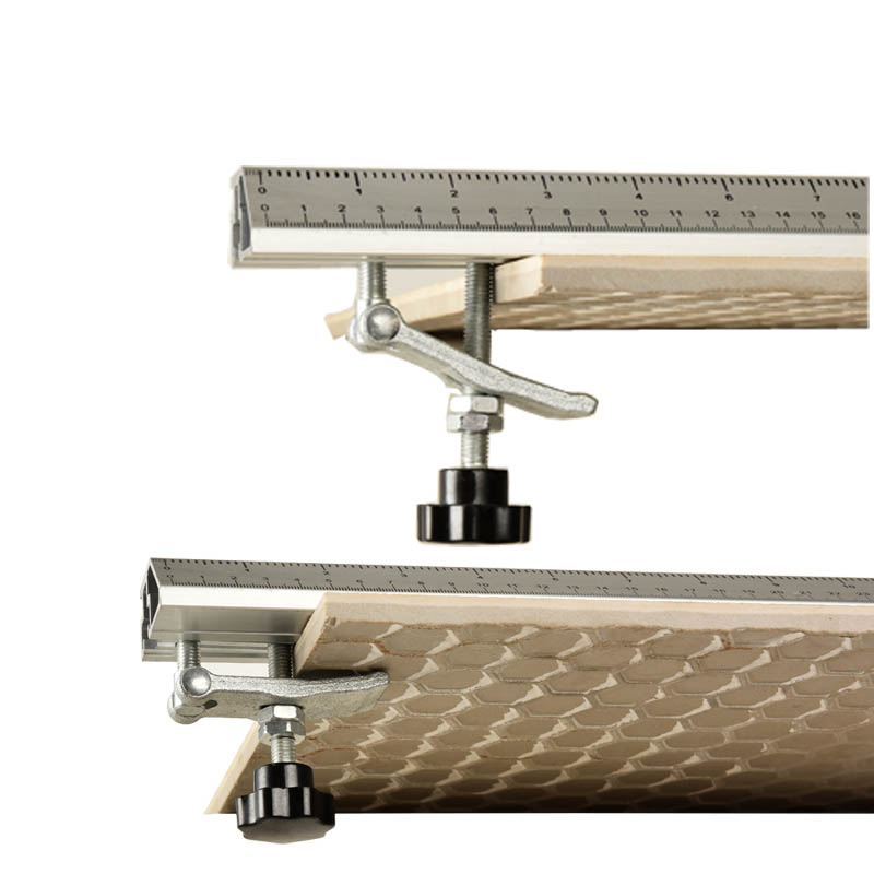Woodworking Flip Saw Electric Circular Saw Cutting Machine Guide Foot Ruler Guide Three-in-one 45 Degrees Chamfer Fixture