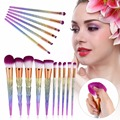 6/10PPCS New 3D Colorful Makeup Brushes Set Foundation Eyeshadow Concealer Powder Cosmetic Tool