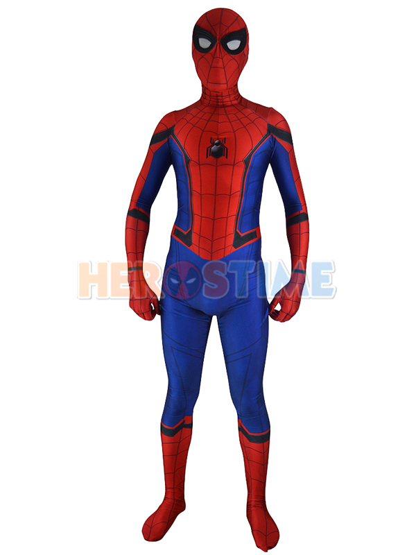 3D Printed Halloween New Homecoming Spiderman Cosplay Costume Spansex Spider-Man Bodysuit