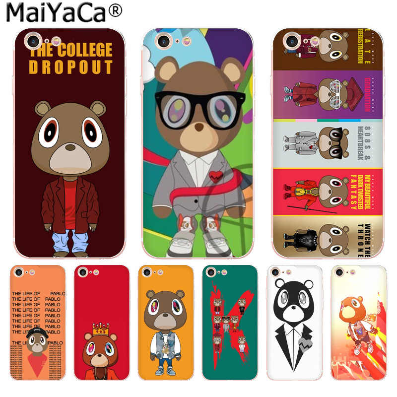 Maiyaca Kanye West Graduation Bear Phone Case For Iphone Se 2020 11 Pro 8 7 66s Plus X 10 5s Se Xr Xs Xs Max Phone Case Covers Aliexpress