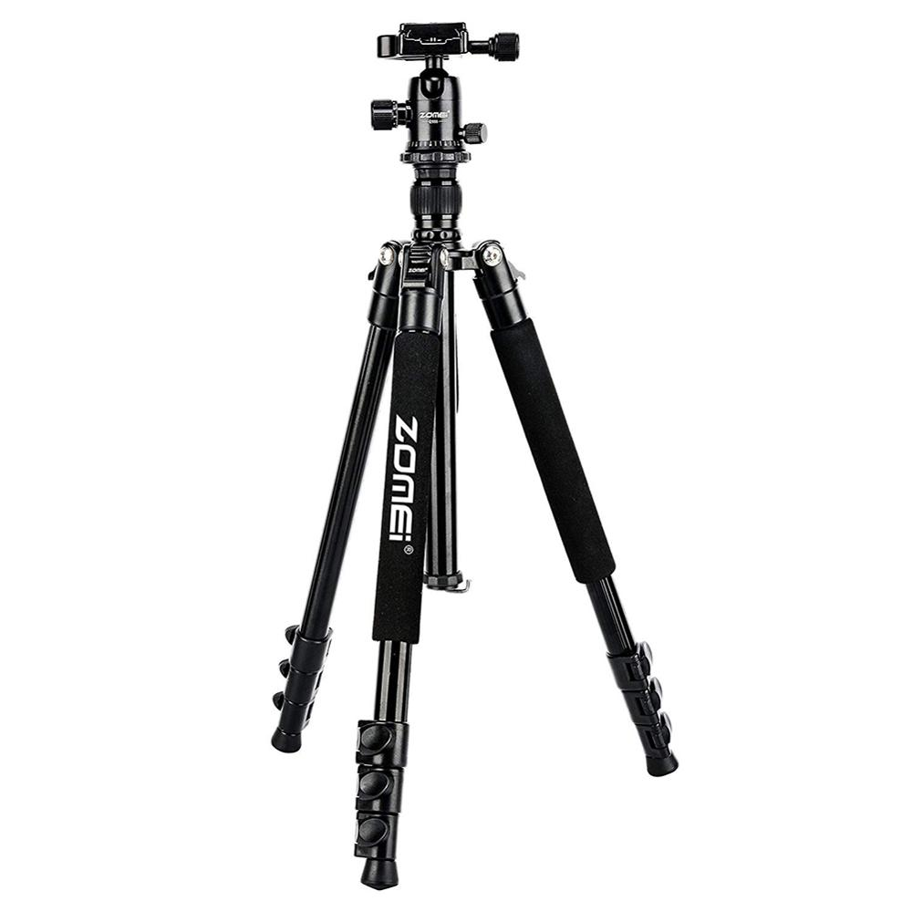 Zomei Q555 Professional Aluminium Flexible Portable Travel Tripod with Ball Head Canon For Nikon Sony DSLR