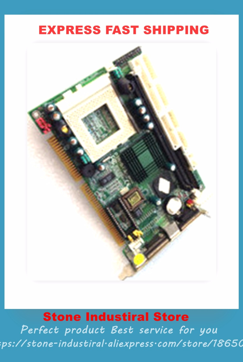 PIA-673 V: 1.0 half-size CPU card with the memory fan set 100% test good quality hpu6900pic 433 ib 2u ipc card 02027 12030 80 100% test good quality