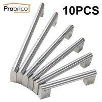 Probrico Boss Bar Handle Hole Center 96mm 256mm Stainless Steel Diameter 14mm Kitchen Cabinet Door Drawer