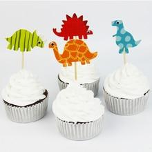 Dinosaur Cupcake Toppers 24pcs