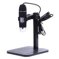 Portable USB Digital Microscope 1000X 8 LED 2MP Digital Microscope Endoscope Magnifier Camera Lift Stand Calibration