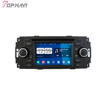 Top Quad Core S160 Android 4 4 Car DVD Stereo For 300C PT Cruiser Ram Grand