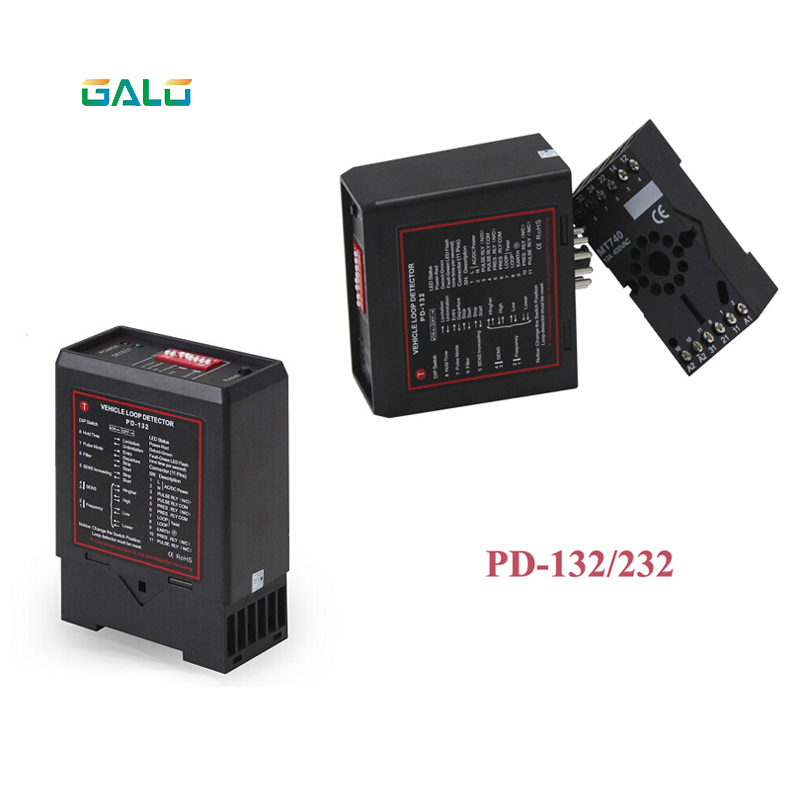 220V PD-132 Inductive Vehicle Single Loop Detector for Automatic Gate opener barrier gate Traffic Inductive Vehicle access220V PD-132 Inductive Vehicle Single Loop Detector for Automatic Gate opener barrier gate Traffic Inductive Vehicle access