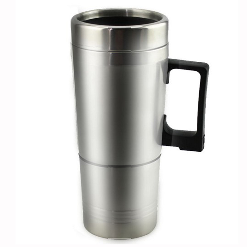 Stainless Steel Electric Heating Cup For Automobile, 12V Creative Kettle Boiled Water cup