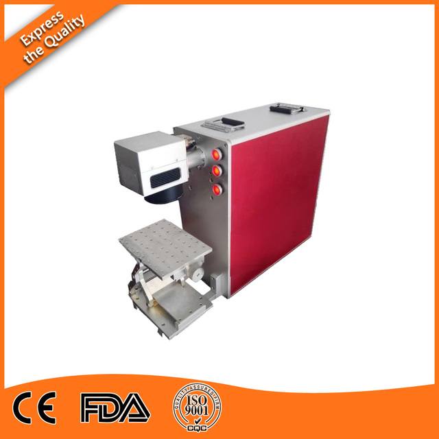 20W Fiber Laser Engraver Machine for ABS of Normal Configuration